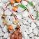 kaklo papuošalas - Varis, vario detalės,  stiklo ir medžio karoliai